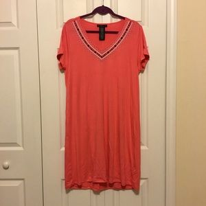 NWT Cute Coral Dress in Medium from Design History